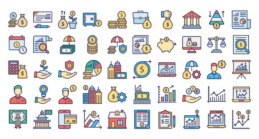 250 Saving And Investment Plan Vector Icons Pack Screenshot 51