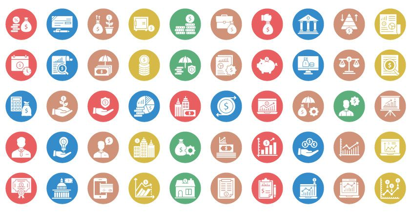 250 Saving And Investment Plan Vector Icons Pack Screenshot 54