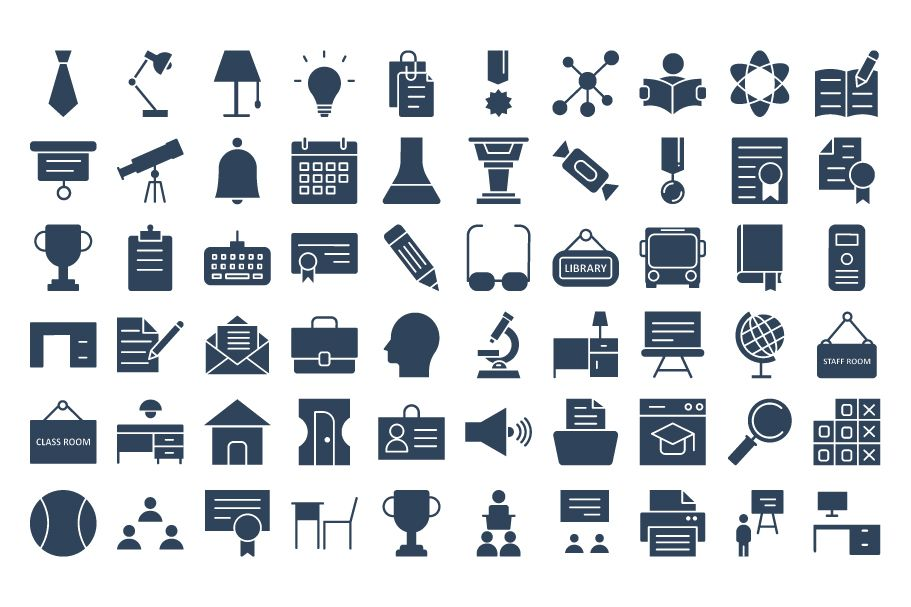 950 Schooling And Education Vector Icons Pack Screenshot 2