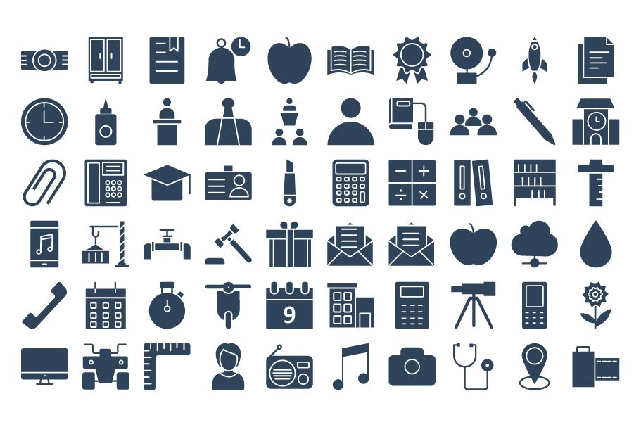 950 Schooling And Education Vector Icons Pack Screenshot 3