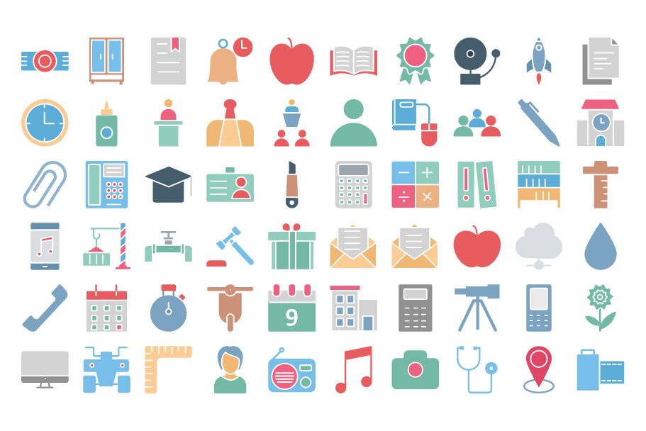 950 Schooling And Education Vector Icons Pack Screenshot 7