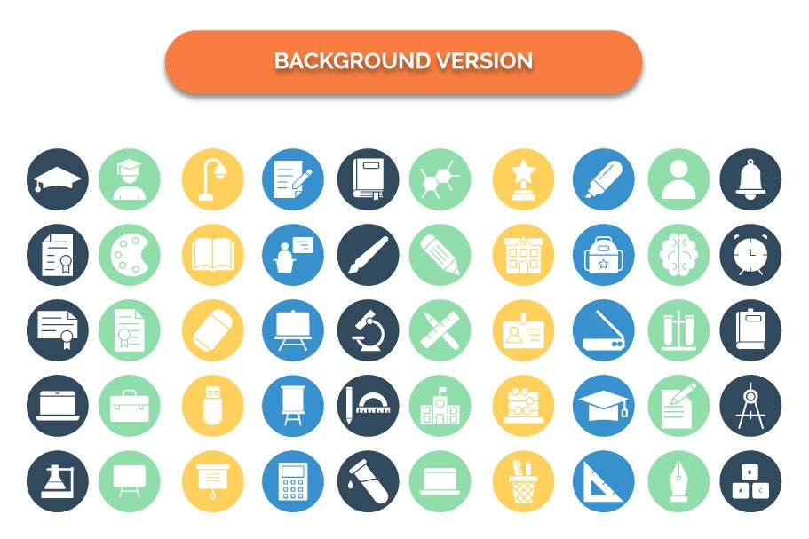 950 Schooling And Education Vector Icons Pack Screenshot 16