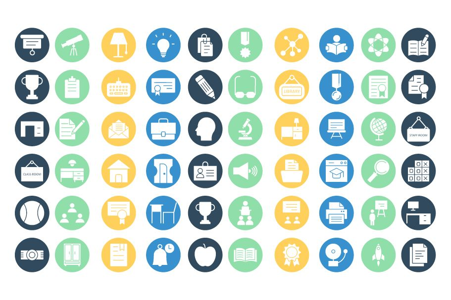 950 Schooling And Education Vector Icons Pack Screenshot 17