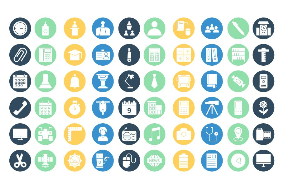 950 Schooling And Education Vector Icons Pack Screenshot 18