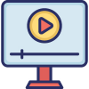400-video-blog-and-development-icons-pack