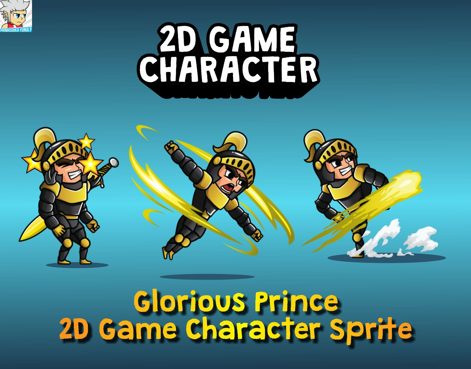 Glorious Spartan 2D Game Character Sprite Screenshot 1