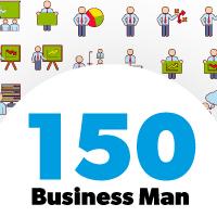 Business Man Color