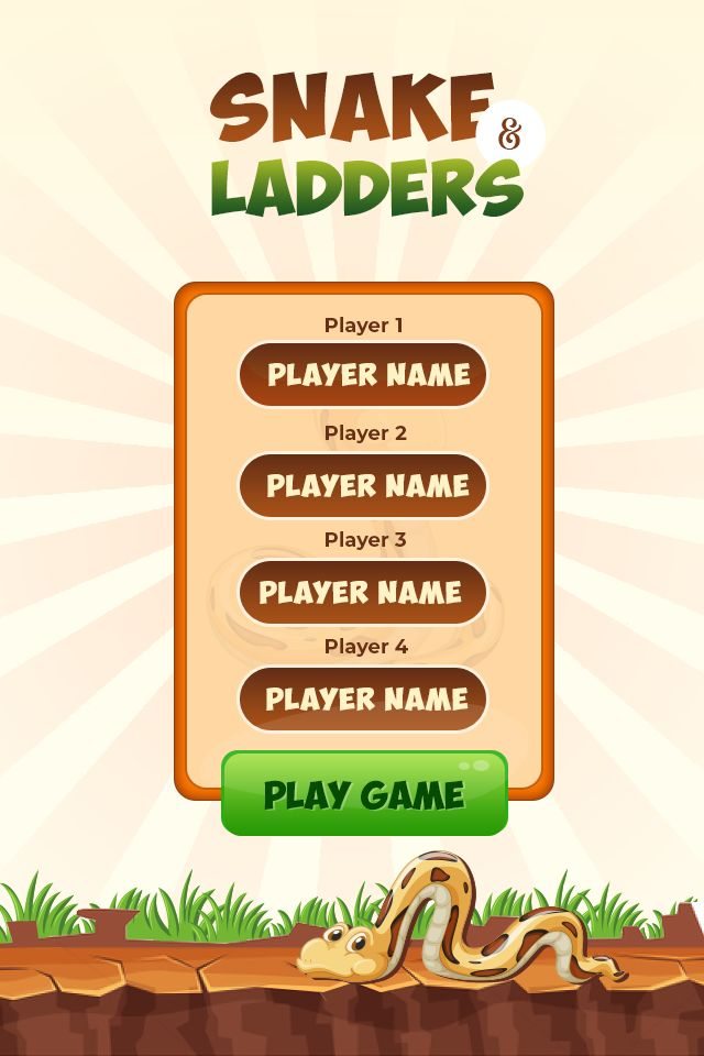 Snakes And Ladders Master - Android Source Code Screenshot 2