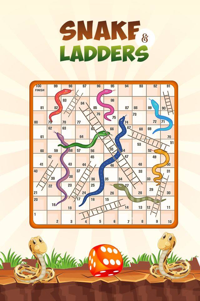 Snakes And Ladders Master - Android Source Code Screenshot 3