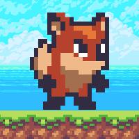 8 Bit Fox - Platform Game Buildbox Template