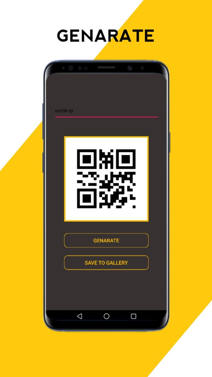 Mr QR - Simple QR Scanner Android Source Code Screenshot 1