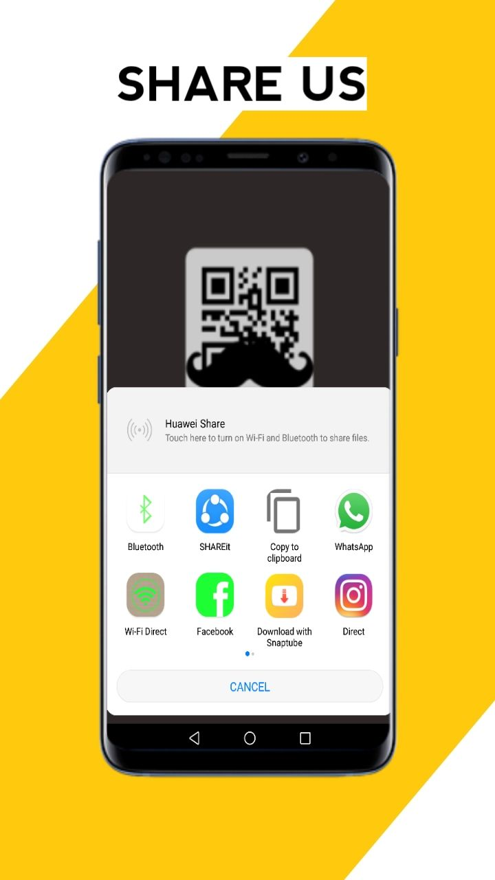 Mr QR - Simple QR Scanner Android Source Code Screenshot 5