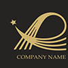 Elegant Letter With Star Logo