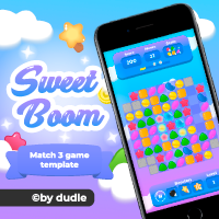 Sweet Boom - Match 3 Unity Template