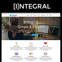 Integral - Responsive Parallax WordPress Theme
