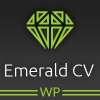 Emerald CV - WordPress Resume Theme