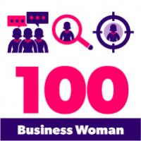 Business Woman Color