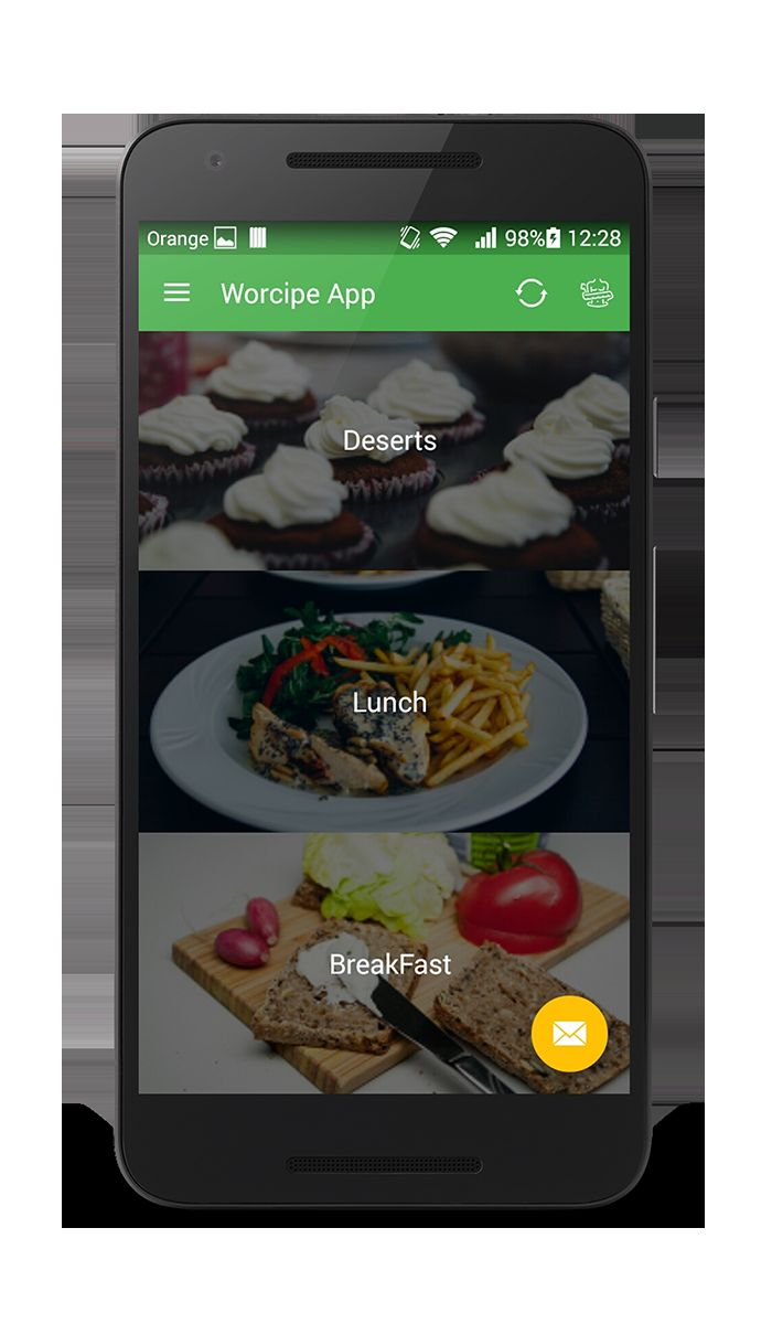 Worcipe android recipe app source code food app templates for worcipe android recipe app source code screenshot 6 forumfinder Image collections