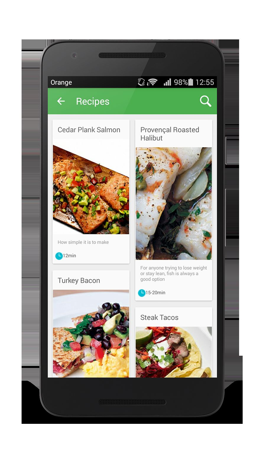 Worcipe – Android Recipe App Source Code Screenshot 10