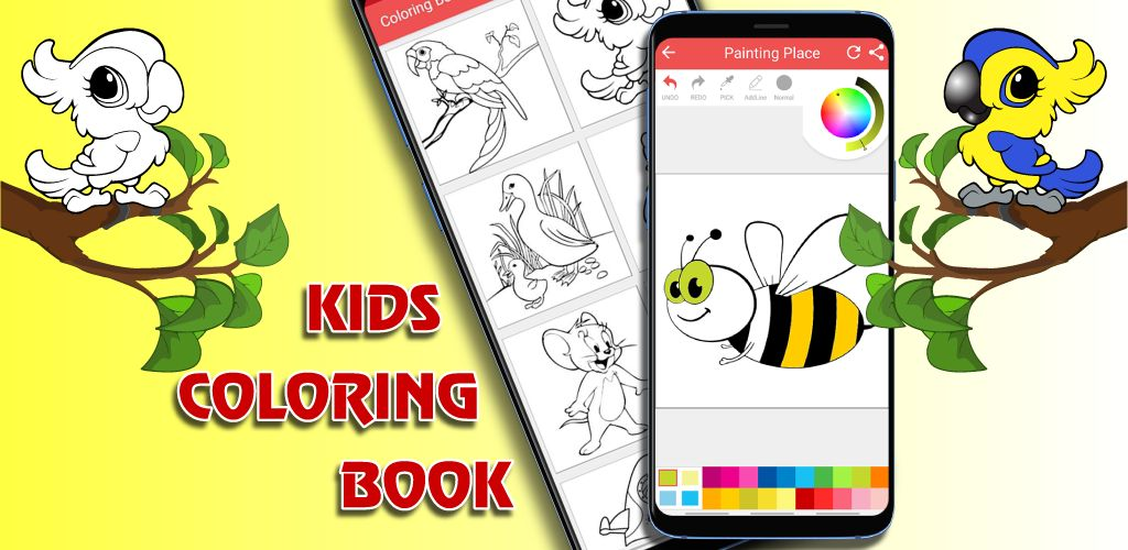 Kids Coloring App Android Source Code Screenshot 1