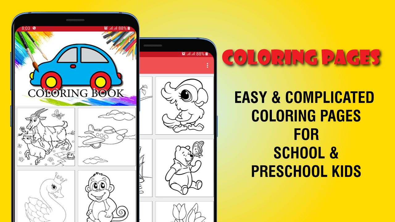 Kids Coloring App Android Source Code Screenshot 3