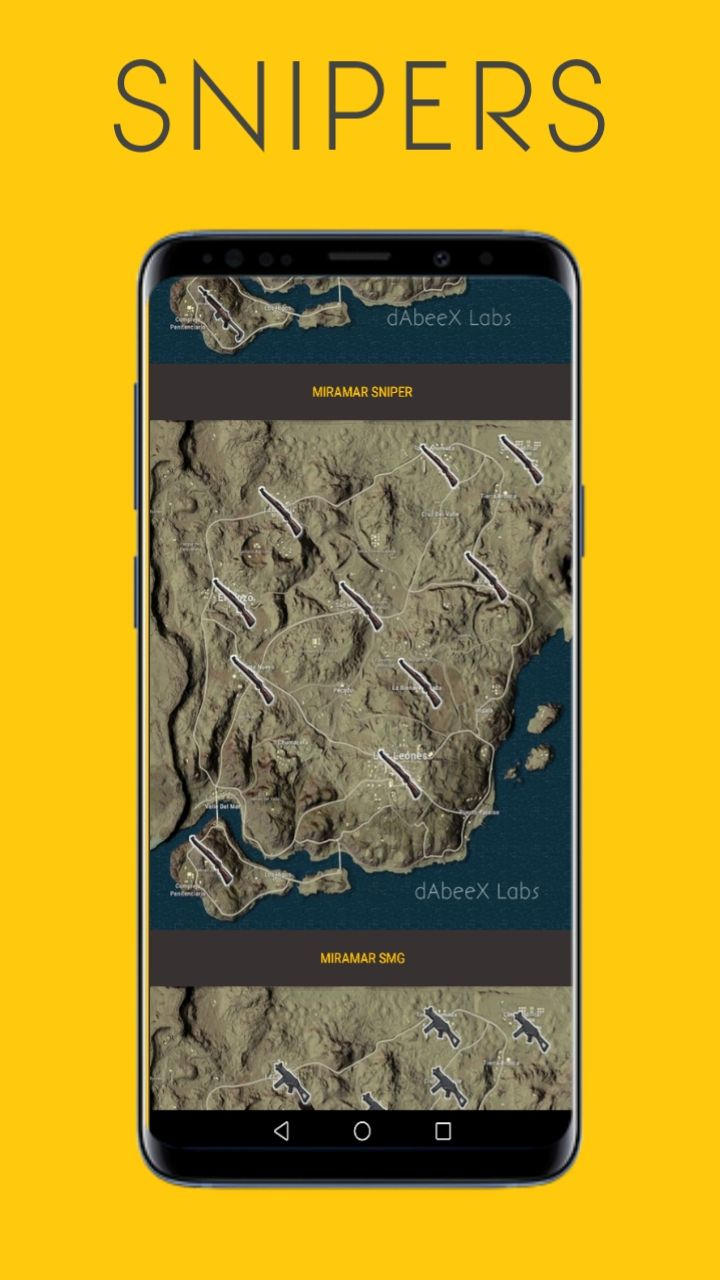 Super  Looter - Map Guide For PUBG Android Screenshot 1