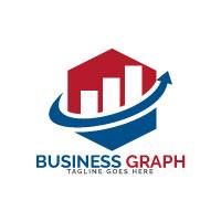 Business Graph Vector Logo Design
