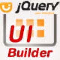 jQuery Web UI Builder - PHP Script