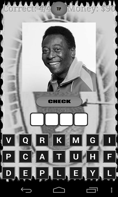 Football Legends Quiz Game Android App Source Code Screenshot 3