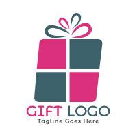 Gift Box Logo Design