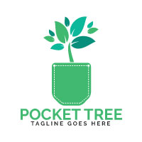 Pocket Tree Logo Design