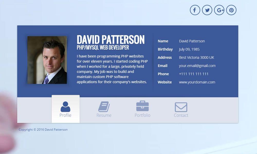 Zbest portfolio vcard html template codester zbest portfolio vcard html template screenshot 1 maxwellsz