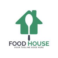 Food House Logo Design