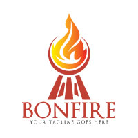 Bonfire Logo Design