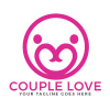 couple-love-vector-logo-design