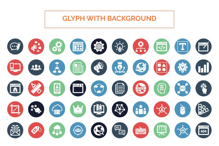 200 Web Optimization Vector Icons Pack Screenshot 3