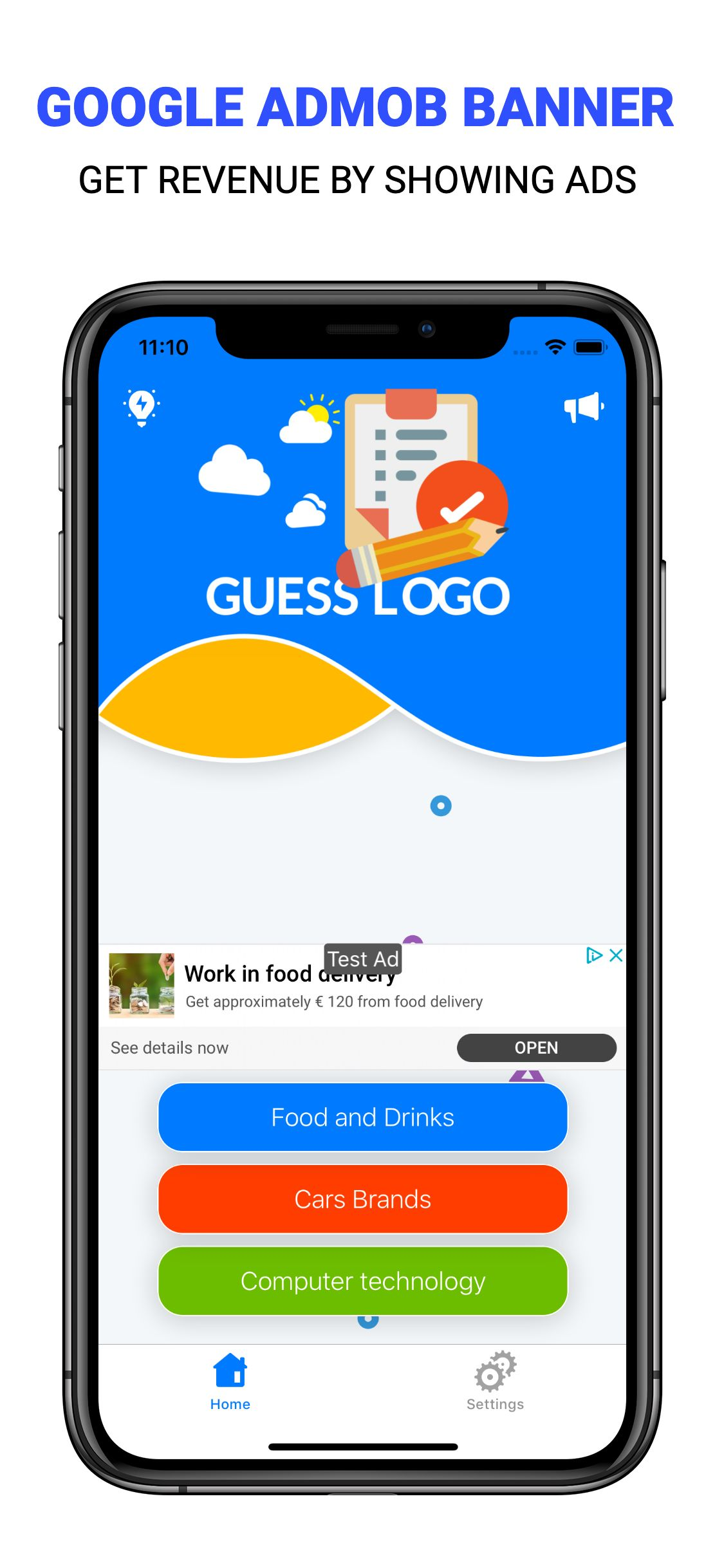 Guess Logo - iOS Game Source Code Screenshot 6