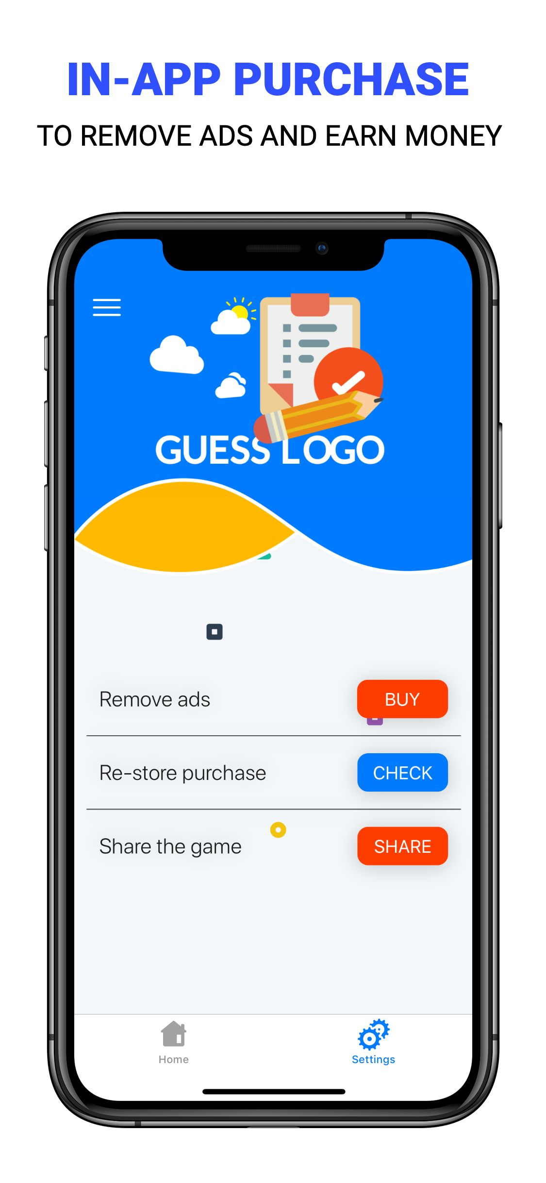 Guess Logo - iOS Game Source Code Screenshot 8