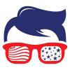 USA Geek Logo Template