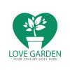 Love Garden Logo Design