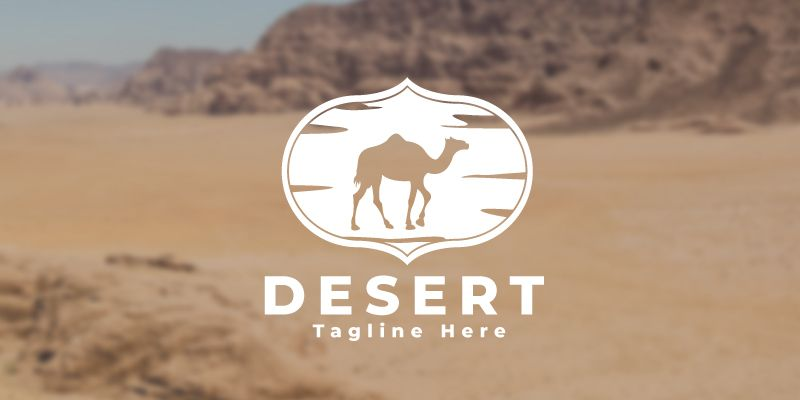 Desert Logo Template Screenshot 2