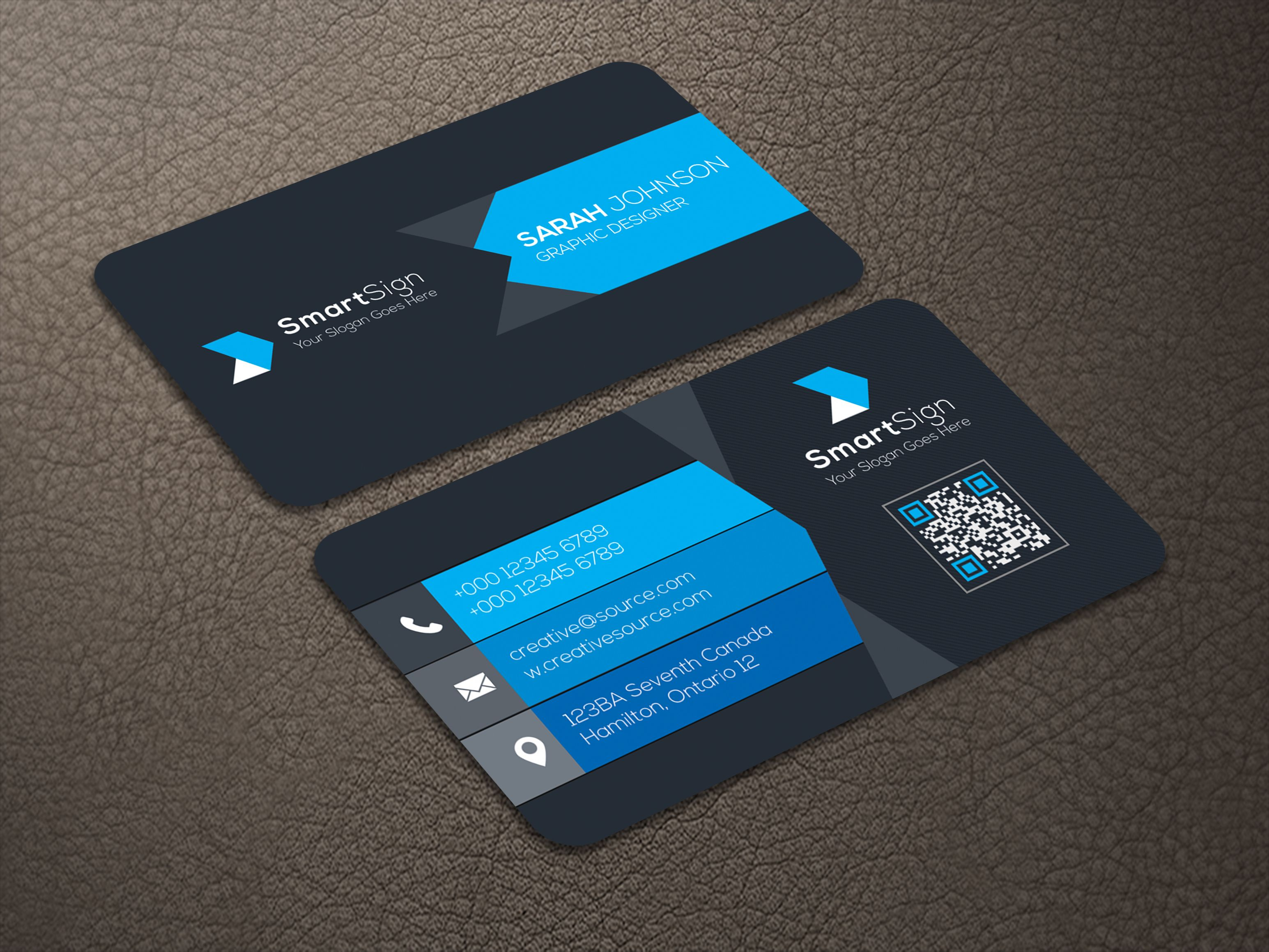 Business Card V2 Screenshot 1