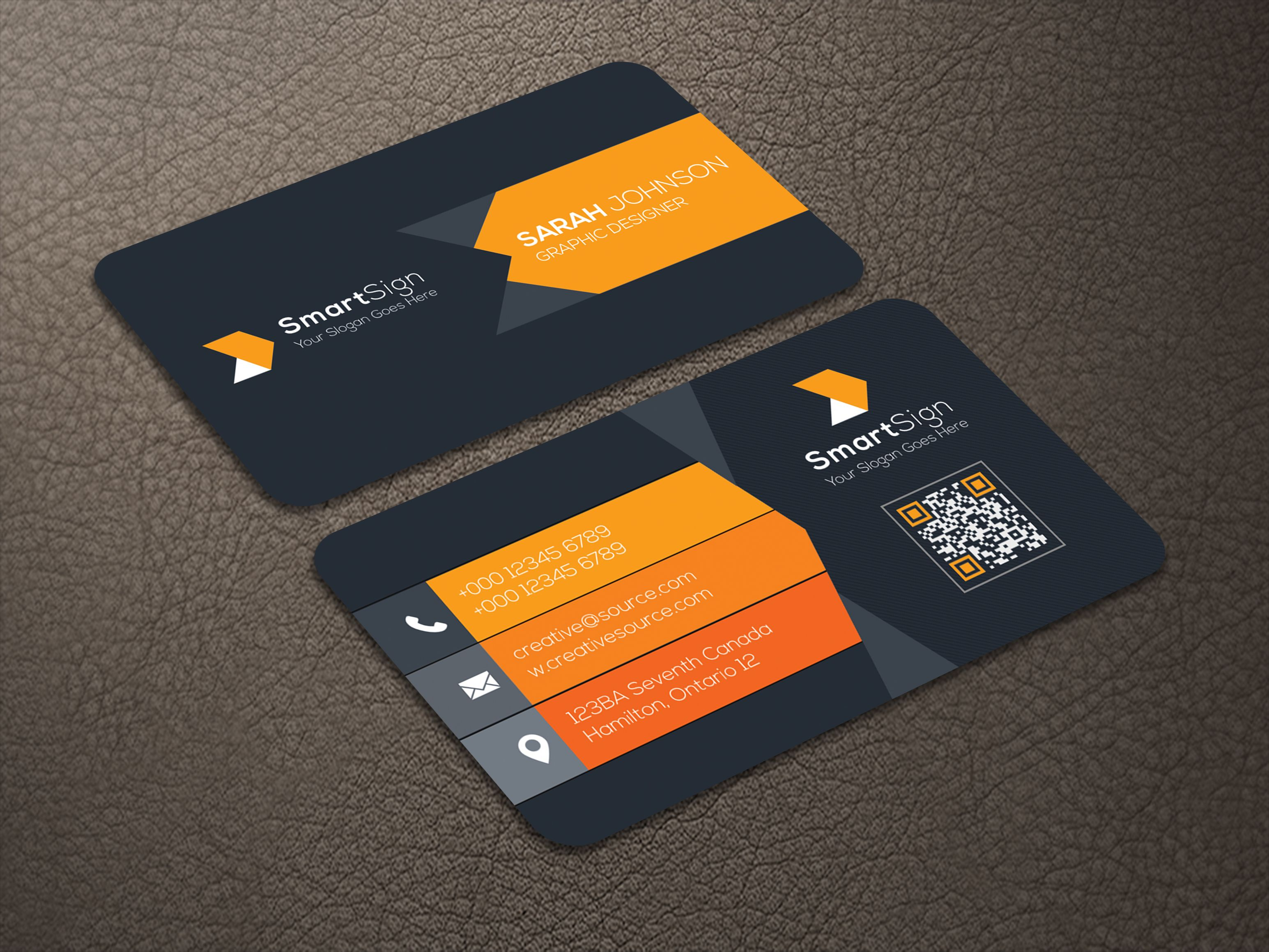 Business Card V2 Screenshot 3