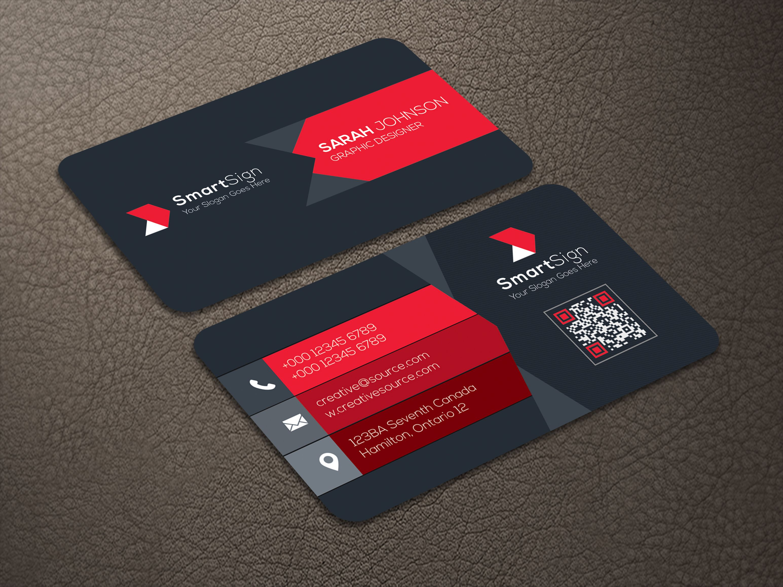 Business Card V2 Screenshot 4