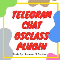 Telegram Chat Plugin For Osclass