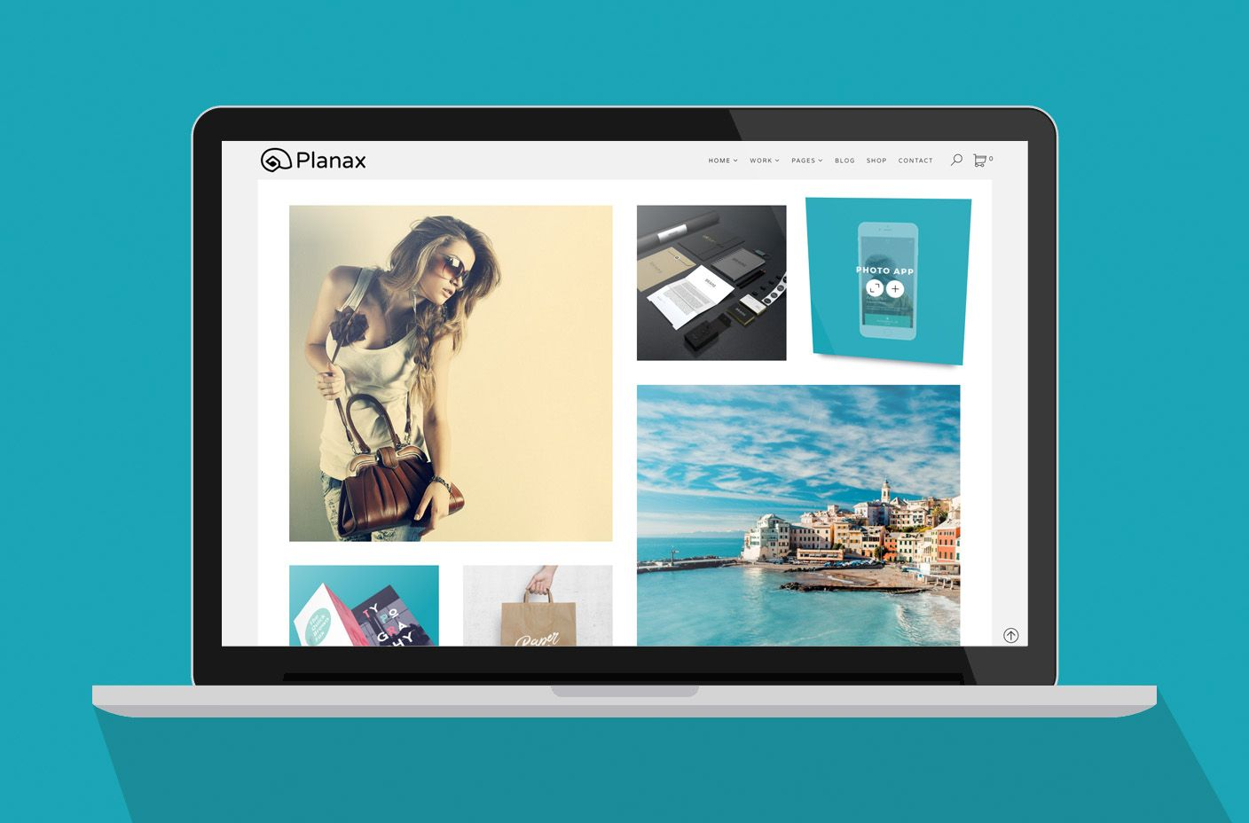 Planax - Responsive WordPress Theme Screenshot 2