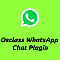 Osclass WhatsApp Chat Plugin