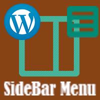 SideBar Menu For Wordpress Plugin