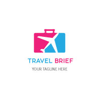 Unique Travel Logo Design
