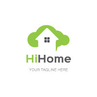 Cloud Home Logo Design